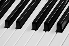 Het toetsenbord van de piano Royalty-vrije Stock Foto's