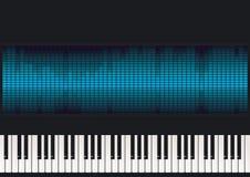 Het toetsenbord van de piano   Stock Foto
