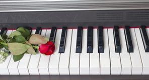 Het toetsenbord van de piano Royalty-vrije Stock Foto