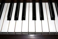 Het Toetsenbord van de piano Royalty-vrije Stock Afbeeldingen