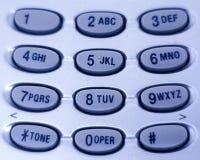 Het Toetsenbord van de telefoon Stock Afbeeldingen