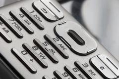 Het Toetsenbord van de telefoon stock afbeelding