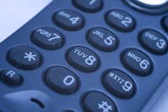 Het toetsenbord van de telefoon Stock Foto's