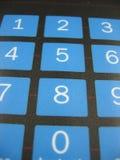 Het toetsenbord van het aantal royalty-vrije stock fotografie