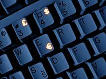 Het toetsenbord van het geld Stock Foto's