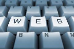 Het toetsenbord van het Web Royalty-vrije Stock Foto