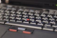 Het toetsenbord van Thinkpad Stock Afbeeldingen