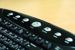 Het toetsenbord van verschillende media Stock Fotografie