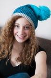 Het toevallige tiener ontspannen Royalty-vrije Stock Foto's
