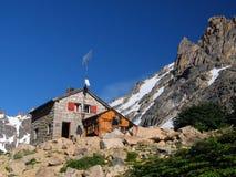 Het toevluchtsoord van de berg stock afbeelding