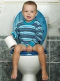 Het toilet Royalty-vrije Stock Afbeelding