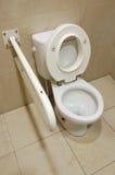 Het toilet van de handicap royalty-vrije stock afbeelding