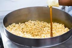 Het tollen Popcorns stock foto