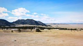 Het toneel landschap van Colorado royalty-vrije stock foto