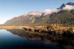 Het Toneellandschap van Nieuw Zeeland Stock Foto