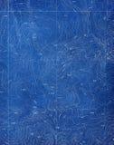 Het topografische Patroon van de Blauwdruk Stock Afbeelding