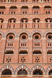 Het torenhoge Gebouw van het Metselwerk Royalty-vrije Stock Afbeeldingen