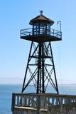 Het torentje van Alcatraz Stock Fotografie