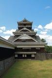 Het Torentje van het Kasteel van Kumamoto royalty-vrije stock foto