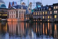 Het Torrentje et le Mauritshuis Photos libres de droits