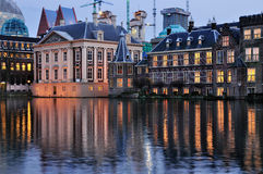 Het Torrentje and the Mauritshuis Royalty Free Stock Photos