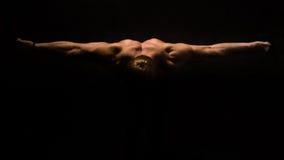 Het torso van de bodybuilder Royalty-vrije Stock Fotografie