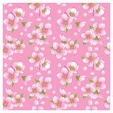 Het tot bloei komen naadloze textuur Royalty-vrije Stock Fotografie