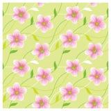 Het tot bloei komen naadloze textuur Stock Fotografie