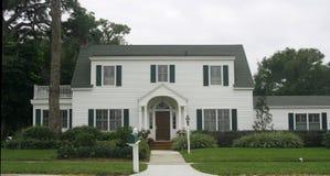 Het traditionele Amerikaanse Huis van de Stijl Royalty-vrije Stock Afbeelding