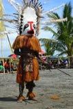 Het traditionele festival Papoea-Nieuw-Guinea van het dansmasker Royalty-vrije Stock Foto