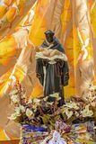 Het traditionele geloof van heilige Benedict en Katholieke godsdienst in Brazilië stock fotografie