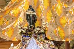 Het traditionele geloof van heilige Benedict en Katholieke godsdienst in Brazilië royalty-vrije stock foto's