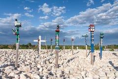 Het traditionele graf van Madagascar stock fotografie