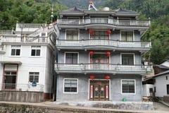 Het traditionele huis van China royalty-vrije stock foto