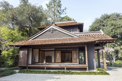 Het Japanse Huis van de Thee Royalty-vrije Stock Foto