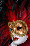 Het traditionele kleurrijke masker van Venetië Stock Afbeeldingen