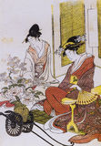Het traditionele kostuum van Japan royalty-vrije stock fotografie