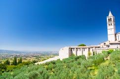 Het traditionele landschap van Toscanië Italië royalty-vrije stock foto