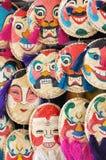 Het traditionele masker van Vietnam Stock Afbeelding