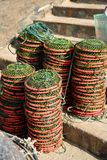 Het traditionele Net van de Visserij Royalty-vrije Stock Fotografie
