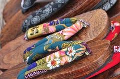 Het traditionele schoeisel van Japan of pantoffel of zori royalty-vrije stock foto