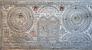 Het traditionele stammen schilderen Orissan royalty-vrije stock fotografie