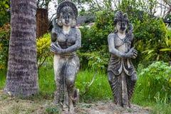 Het traditionele standbeeld van Bali Royalty-vrije Stock Afbeelding