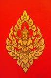 Het traditionele Thaise stijlkunst schilderen Royalty-vrije Stock Fotografie