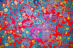 Het traditionele Thaise stijlkunst schilderen op Plafond stock afbeeldingen