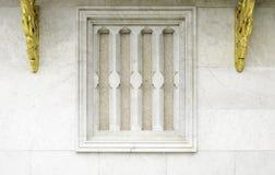 Het traditionele Thaise venster van de stijltempel Royalty-vrije Stock Foto's