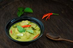 ` Het Traditionele Thaise voedsel van Kang Keaw Wan Fish Ball ` stock afbeelding