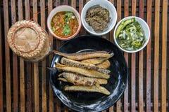 Het traditionele voedsel van Thailand Stock Afbeelding