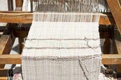 Het traditionele Weven Stock Afbeelding