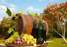Het traditionele wijn maken royalty-vrije stock fotografie